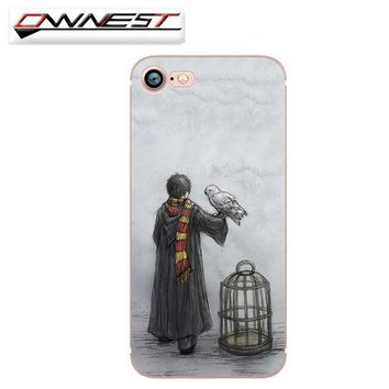 Harry Potter Owl Free Ship Harry Potter Phone Case For iPhone 7 7Plus 6 6s Plus 5 5s