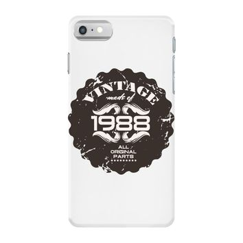 vintage made of 1988 all original parts iPhone 7 Case
