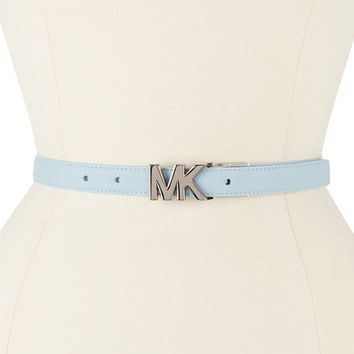 Michael Kors Reversible Saffiano Leather Belt with MK Buckle | Dillards
