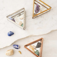 Triangle Glass Box | Urban Outfitters