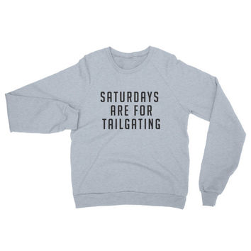 Saturdays Are for Tailgating Raglan sweater | The Inked Elephant