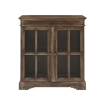 BOOKCASE 2-DOOR CABINET