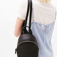 Mini backpack with zip - Bags - Bershka United States