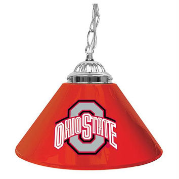 The Ohio State University 14 Inch Single Shade Bar Lamp