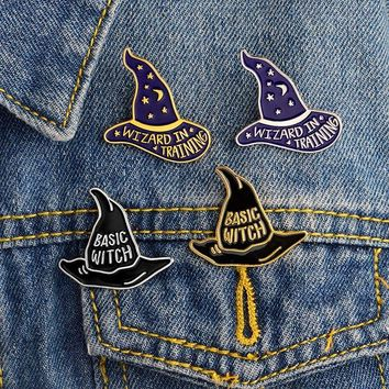Wizard In Training / Basic Witch Pins