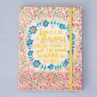 Life is a Beautiful Garden Journal