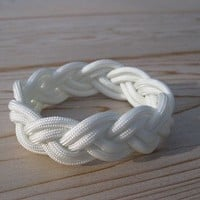 Traditional Turks Head Sailor's Rope Bracelet Double by TheJetty