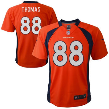 Demaryius Thomas Denver Broncos Nike Preschool Game Jersey – Orange - http://www.shareasale.com/m-pr.cfm?merchantID=7124&userID=1042934&productID=540342838 / Denver Broncos
