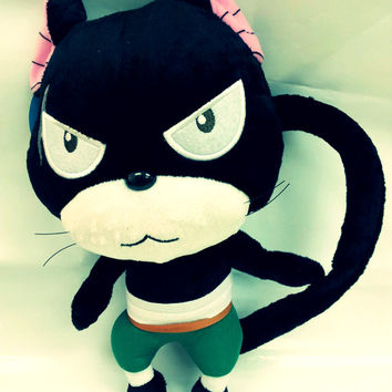 Pantherlily Fairy Tail Plush Toy Panther Lily Stuffed Doll Anime Pillow