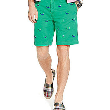 Polo Ralph Lauren Classic-Fit Embroidered Chino Shorts - Cruise Green/
