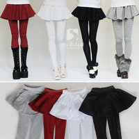 Fashion Leggings Skirt for 1/4 1/3 SD16 IP BJD Doll SD MSD Super Dollfie Clothes