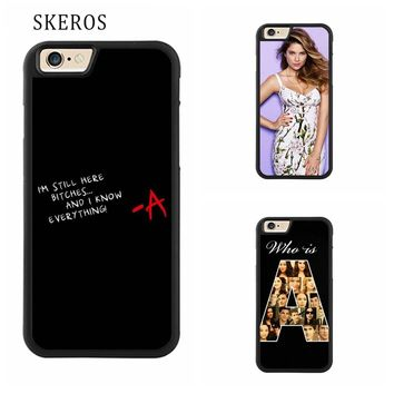 SKEROS Pretty Little Liars 4 Protective cover phone case for iphone X 4 4s 5 5s 6 6s 7 8 6 plus 6s plus 7 plus 8 plus #qq285