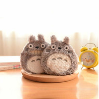 Kawaii Totoro Plush Coin Purse Key Wallet Card Bag