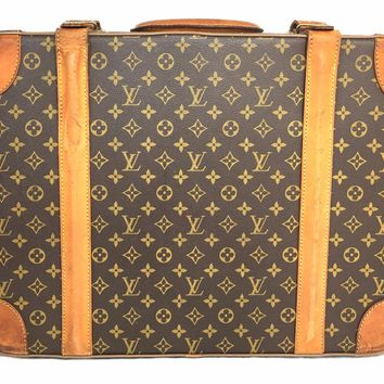 LOUIS VUITTON Monogram Vintage 60 Suitcase Trunk