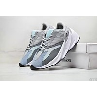 Adidas Yeezy 700 Boost Fashion Men Sport Running Shoes Sneakers Grey&Blue