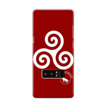 Teen Wolf Inspired Triskelion Symbol Samsung Galaxy Note 8 Case