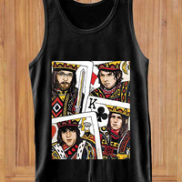 Kings Of Leon  design clothing lives for Tank Top Mens and Tank Top Girls