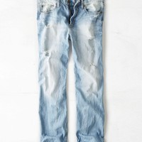 AEO Men's Loose Jean (Ultra Light Crackle)