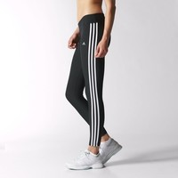 adidas Ultimate 3-Stripes Tights - Black | adidas US