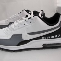 NEW MEN'S NIKE AIR MAX LTD 3 687977-119 WHITE/WHITE-BLACK-COOL GREY