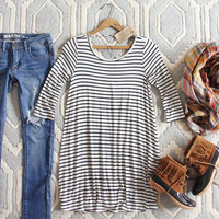 The Stormy Stripe Tunic