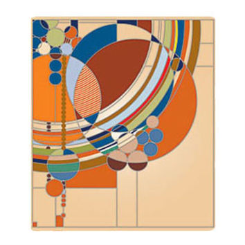 Frank Lloyd Wright March Balloons Mousepad