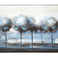 Forest Landscape Painting Print on Canvas