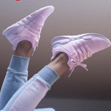 "Women ""Adidas"" Equipment EQT Support ADV Pink Casual Sports Shoes Pink"