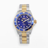 Invicta Watch - Men's Pro Diver Two Tone Stainless Steel Automatic