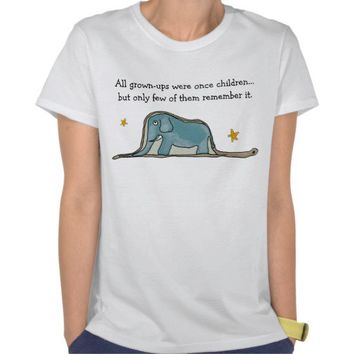 The Little Prince Elephant inside Boa Constrictor Tees from Zazzle.com