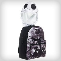 Nightmare Before Christmas Jack Backpack w/Hood - Spencer's
