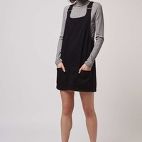 MOTO Denim Mini Pinafore - Topshop