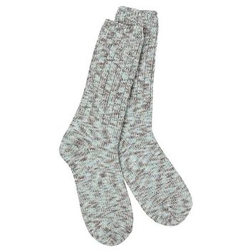 World's Softest Socks - Ragg Crew - Ribbed Leg - Savannah