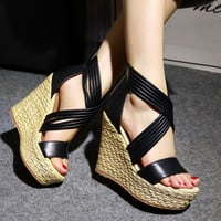 Casual Summer Wedges