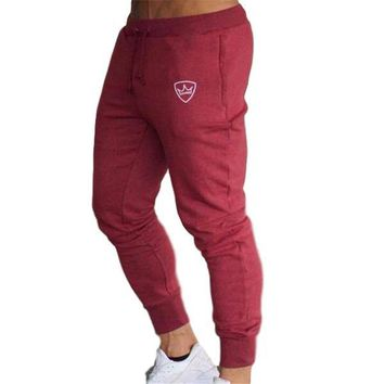 Gyms Men Joggers Sweatpants Men Joggers Trousers Sporting Clothing The high quality Bodybuilding Pants
