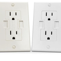 Newer Technology Power2U Dual Socket USB Wall Outlet