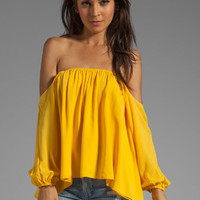 Boulee Audrey Top in Auroa Yellow from REVOLVEclothing.com