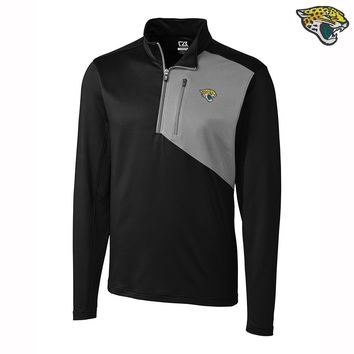 NFL Jacksonville Jaguars Men's Cutter and Buck Quarter-Zip Jacket