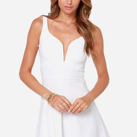 Wired Doll Dress - White