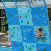 AquaClimb: A Climbing Wall for Pools