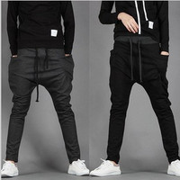 Men's Fashion Men Plus Size Casual Pants Stylish Sportswear Skinny Pants [6541731459]