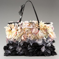 Valentino - Flower Tote with Bow Handle - Bergdorf Goodman