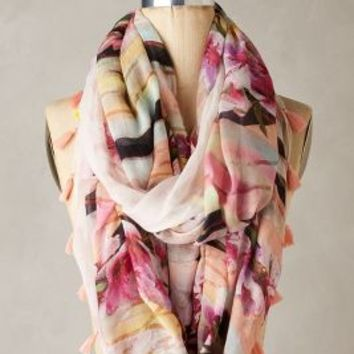 Anthesis Infinity Scarf by Anthropologie in Pink Size: One Size Scarves