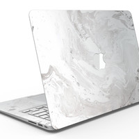 Mixtured Gray v9 Textured Marble - MacBook Air Skin Kit