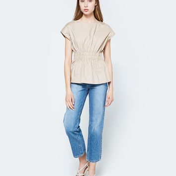 Stelen / Tilda Top in Tan
