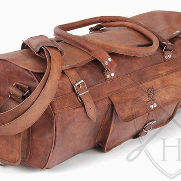 Best Leather Holdall Products on Wanelo