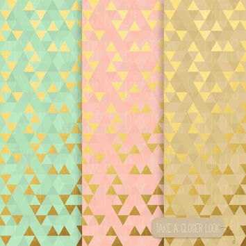 Gold Glitter Confetti Digital Paper. Black and Gold Confetti Scarpbooking Background.  Galaxy Digital Paper. Christmas, New Year Patterns.