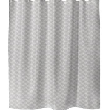FRILL PURPLE Shower Curtain By Tiffany Wong