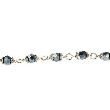 Black Diamond Trousseau Bracelet - Lenny and Eva