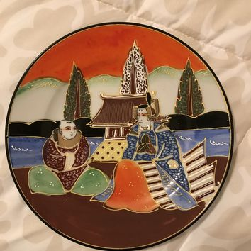 Japanese Hand Painted Plate